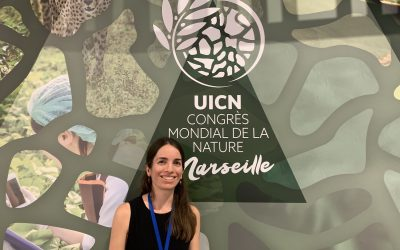A thesis, an internship and an unexpected world congress: Victoria Reynal's story